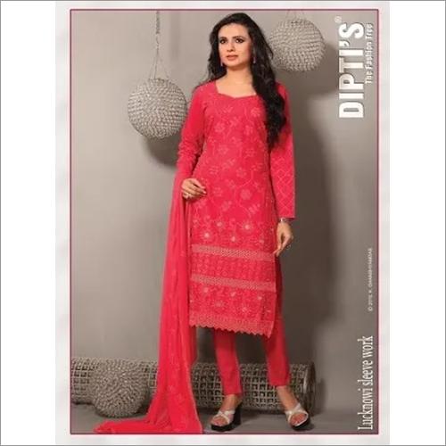 Lucknowi Fancy Churidar Suit