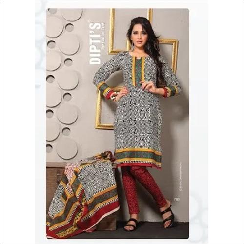 Ladies Modern Printed Salwar Suit