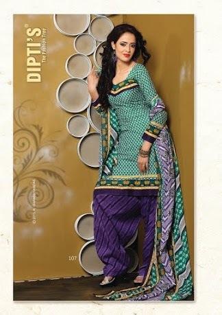 Ladies Modern Punjabi Suit