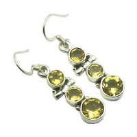 Citrine Gemstone Earring