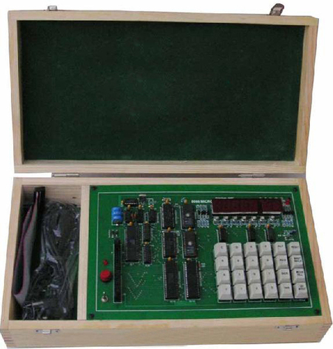 Microprocessor Training Kit With LCD Display