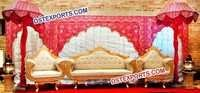INDIAN WEDDING STAGE DECORS