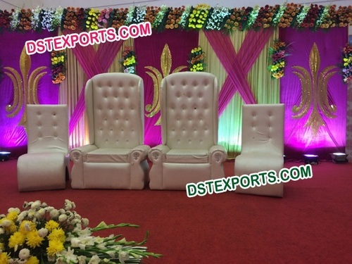 Wedding Stage White Furniture Set