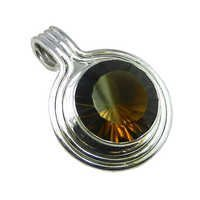 Smoky Quartz Gemstone Pendant