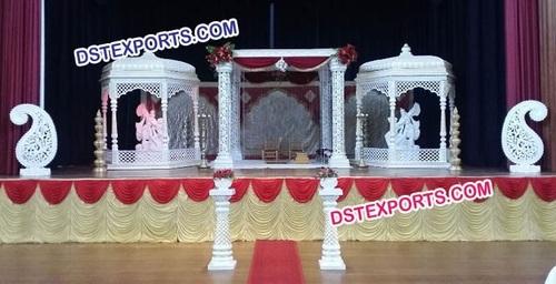 Indian Wedding Krishna Mandap