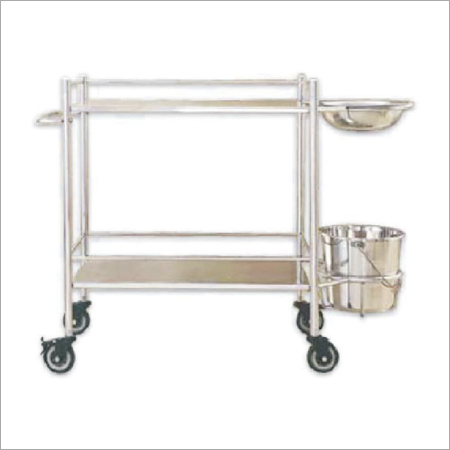 Dressing Trolley 18 x 30 (M.S.)