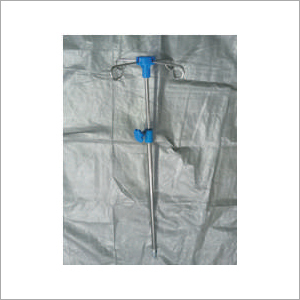 Telescopic I.V rod for Hospital Beds