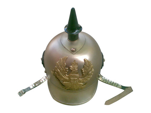 German Helmet With Spike Pickelhaube