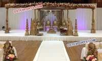 Indian Wedding Elephant Mandap