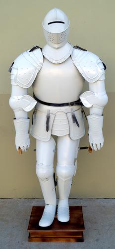 White Full Armor Suit