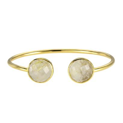 Golden Rutile Gemstone Bangle