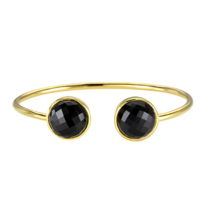 Black Onyx Gemstone Bangle
