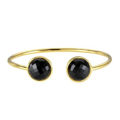 Black Onyx Gemstone Bangle