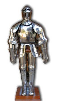 Stainless Stell Medieval Full Armor Suit