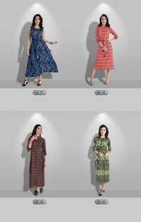 VASANCHE Designer Straight Kurti Wholesale