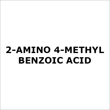 2-AMINO 4-METHYL BENZOIC ACID
