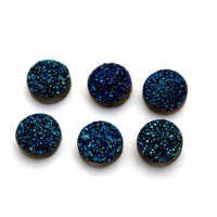 Blue Druzy Loose Gemstone