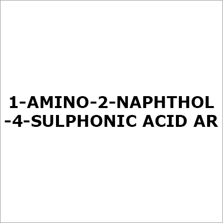 1-AMINO-2-NAPHTHOL-4-SULPHONIC ACID AR
