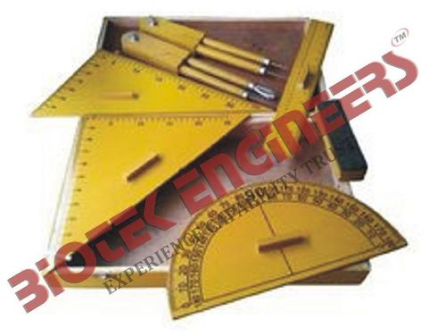 Geometrical Instrument Box (Wooden)