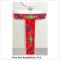 Polo Set Designer Colored Wash Basin