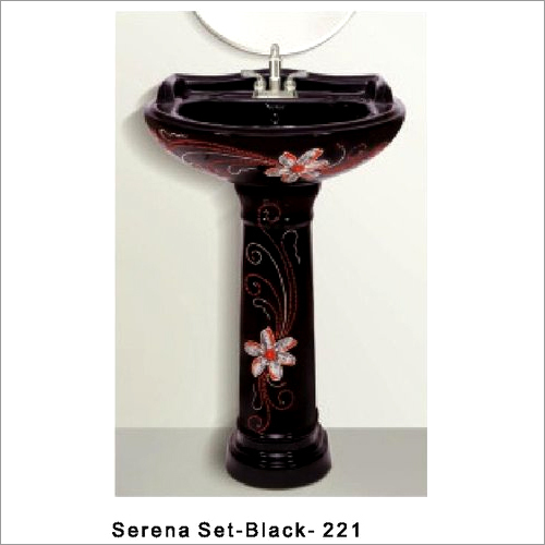 Serena Black Wash Basin 221