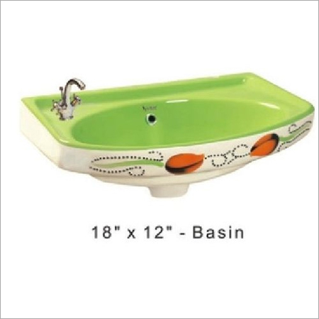 Classic Colored Basin 18