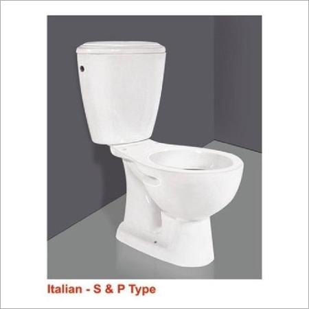 Italian S & P Type Water Closet