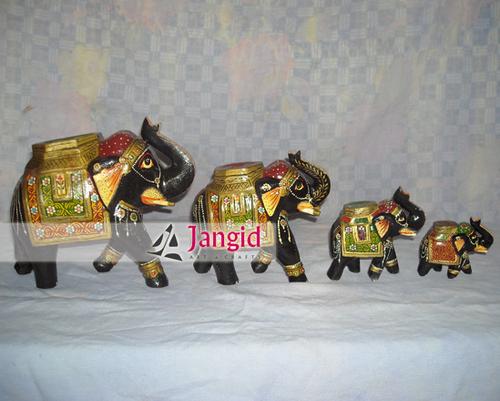 Indian Decorative Painted Elephants