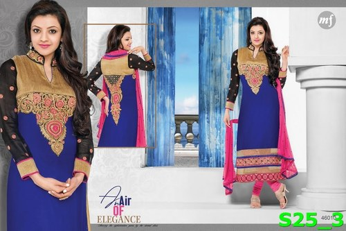 Buy Embroidered Salwar Suits