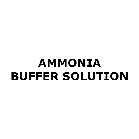 AMMONIA BUFFER SOLUTION