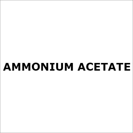 AMMONIUM ACETATE 99%