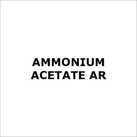 AMMONIUM ACETATE AR