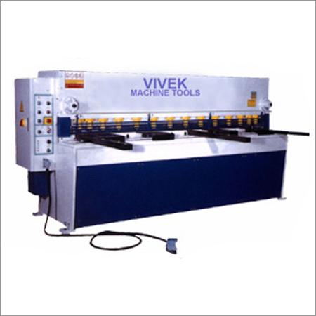 Variable Rake Angle Shearing Machine