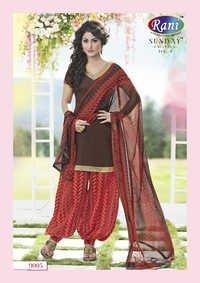 Heena Khan Browny Designer Patiyala Suit