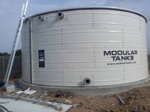 Larger Capacity Storage Tanks