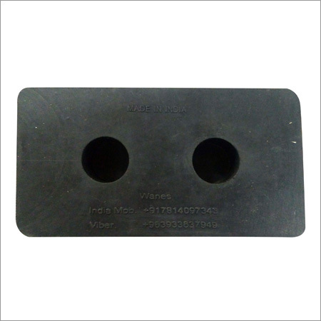 Rubber for Machine Bed