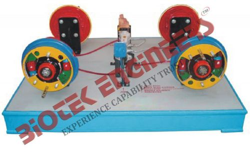 Hydraulic Brake Unit (Four  Brake Drums)