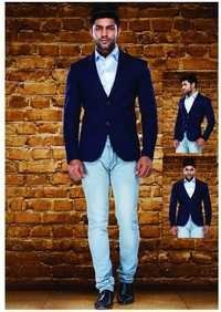 Men Tweed Blazer