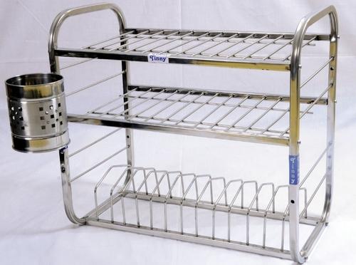 Stainless Steel Utensils Rack