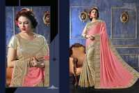 Attractive Embroidered Sarees