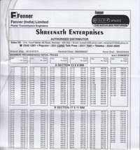 Dunlop Price List
