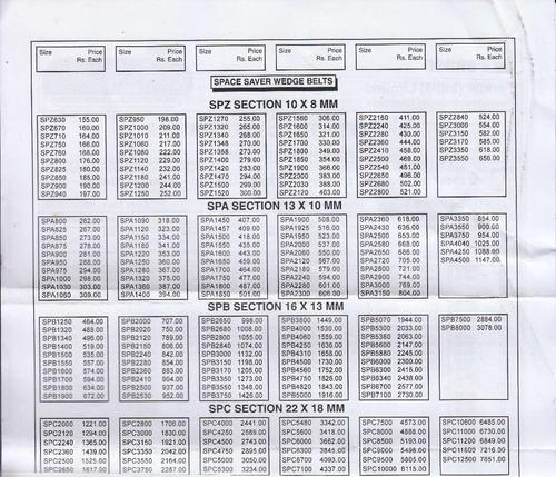 Motors Price List