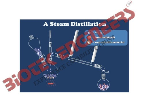 Steam Distillation Setup
