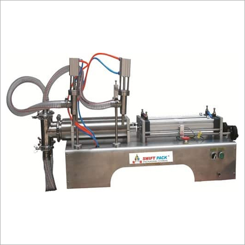 Double Head Liquid Filling Machine