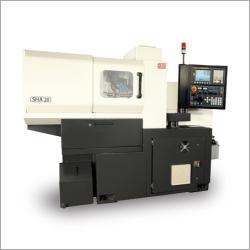 Sliding Head CNC Turning Machine