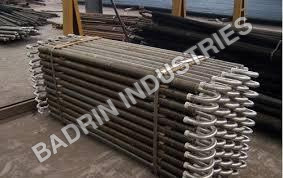 Spiral Finned Tube Heat Exchanger