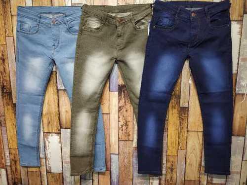 Designer Straight Jeans