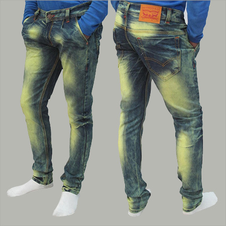 Mens Faded Jeans