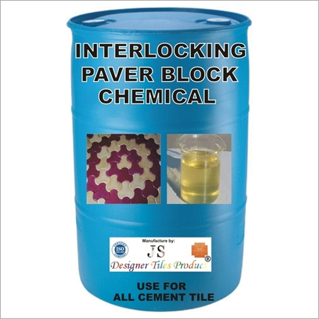 INTERLOCKING PAVER BLOCK CHEMICAL