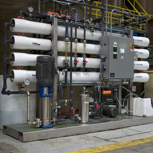 Waste Water Desalination